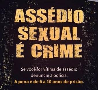 Resultado de imagem para assédio é crime